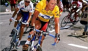 Lance Armstrong and Zulle Alpe 1999