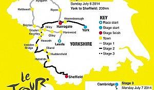 Tour 2014 map