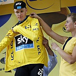 Froome yellow jersey