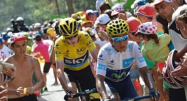 Quintana and Froome