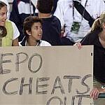 Paula Radcliffe EPO poster